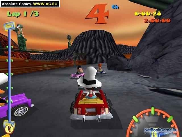 Toon car большие гонки