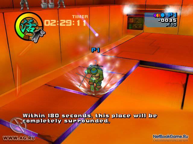 Teenage Mutant Ninja Turtles 2: Battle Nexus [2004 / Eng]
