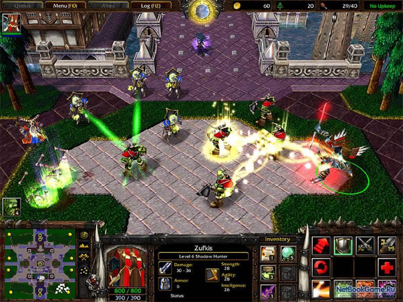 Последние патчи для обновления версии игры Warcraft 3 ROC и. Скачать.