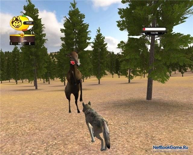 скачать игру Wolfquest и Wolfquest Survival Of The Pack - фото 6