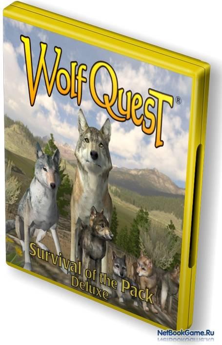 скачать игру Wolfquest и Wolfquest Survival Of The Pack - фото 4