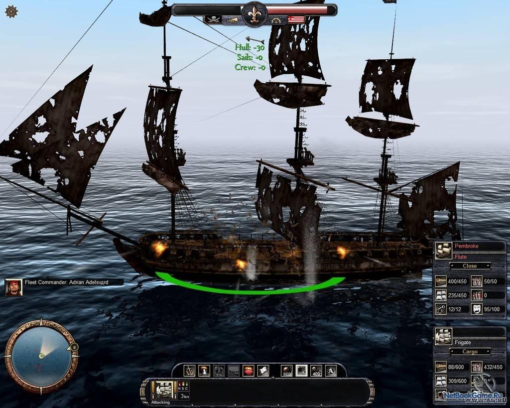 Скачать игру про Корабли через торрент