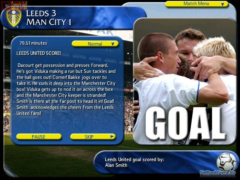 Leeds United Official Management Game