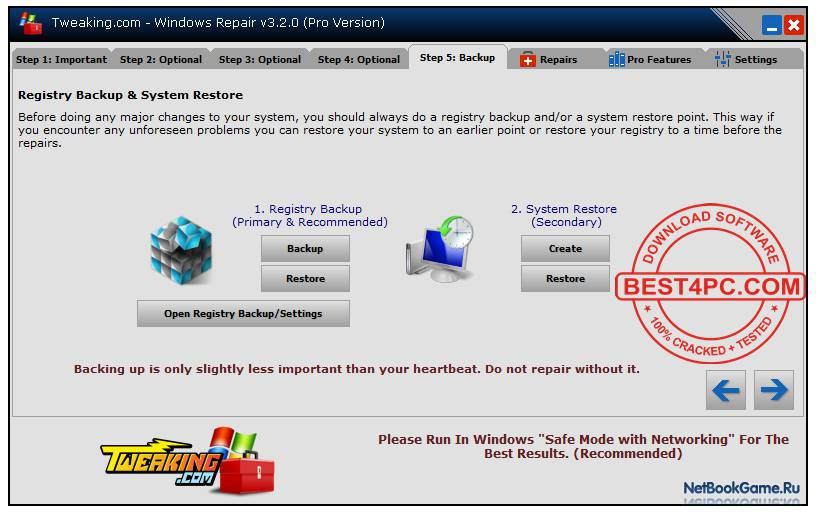 Windows Repair (All In One) Pro 3.9.35 Final + Portable